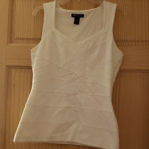 WHBC sleeveless dress top